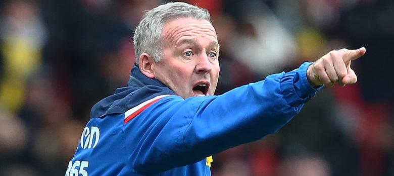 Stoke City boss Paul Lambert