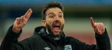 Huddersfield Town head coach Carlos Corberan