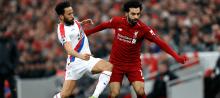 Mo Salah against Crystal Palace