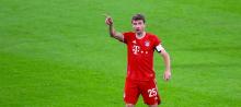 Bayern Munich forward Thomas Muller